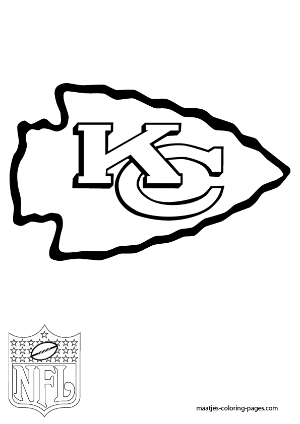 595x842 Images Of Kansas City Chiefs Coloring Pages Printable