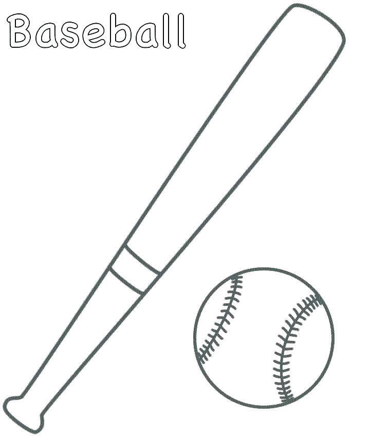 720x850 Baseball Coloring Sheets Sports Balls Coloring Pages Baseball
