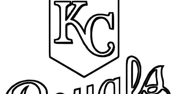 600x315 Baseball Coloring Pages Royals