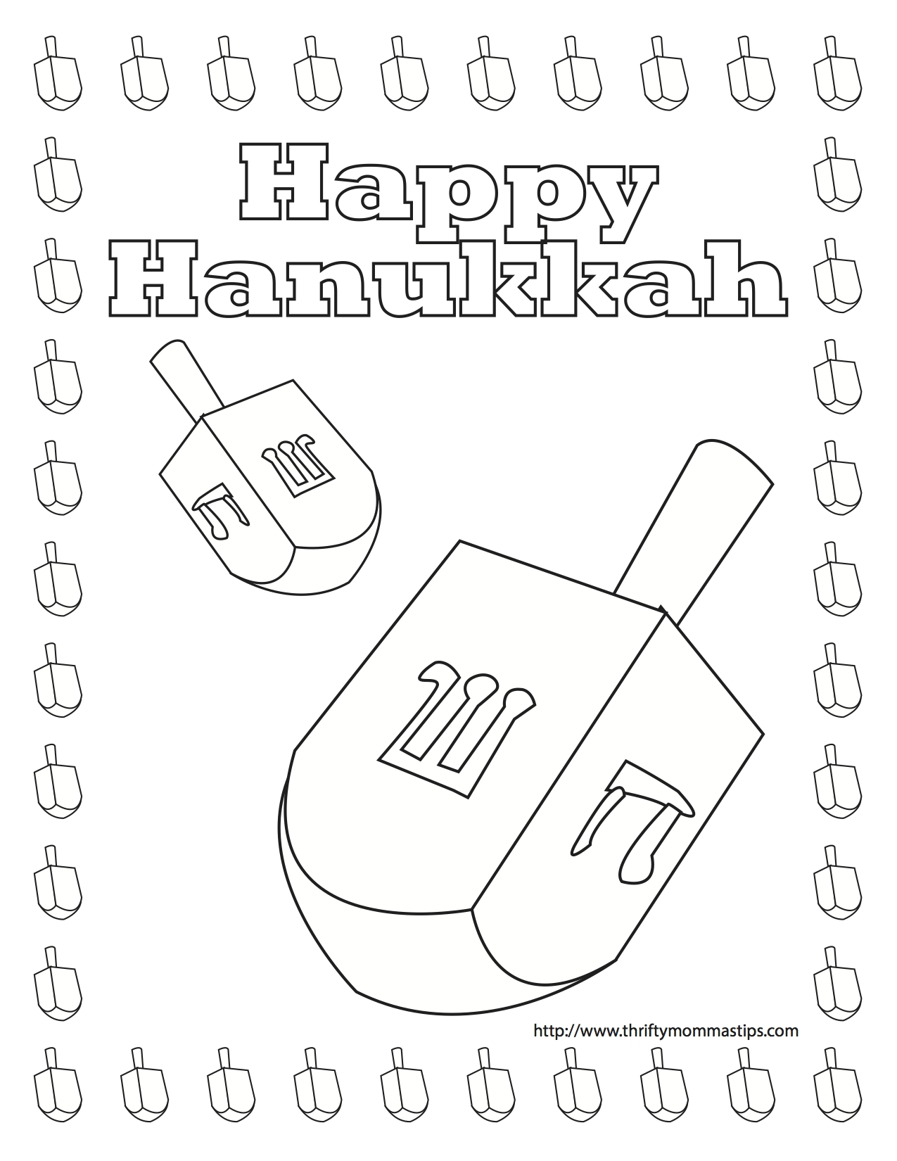1275x1650 Dreidel Coloring Pages Free Coloring For Kids