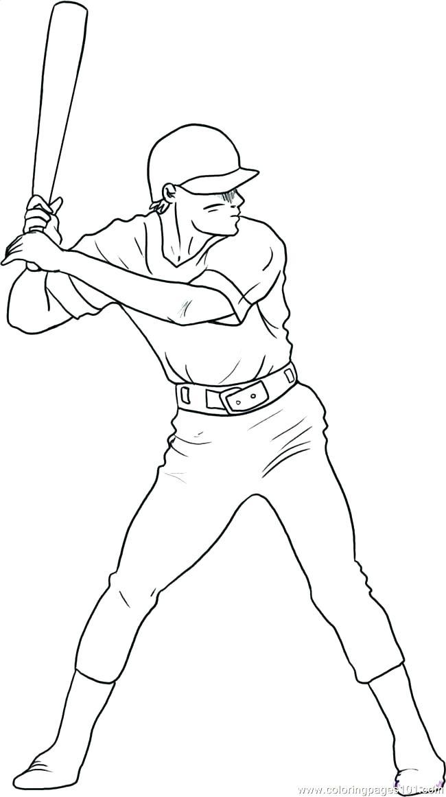 650x1161 Softball Coloring Page Wallbox Club