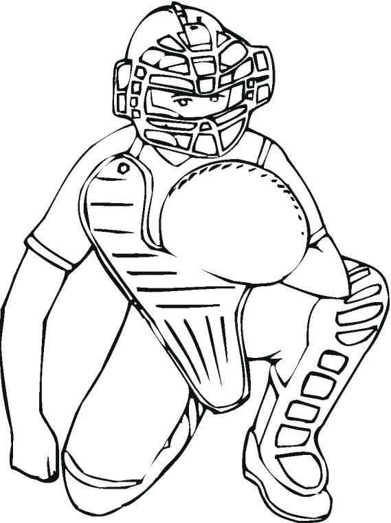 569x760 Baseball Coloring Pages The Turtle Going To Play Baseball Coloring