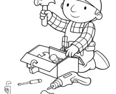 235x190 C Coloring Pages