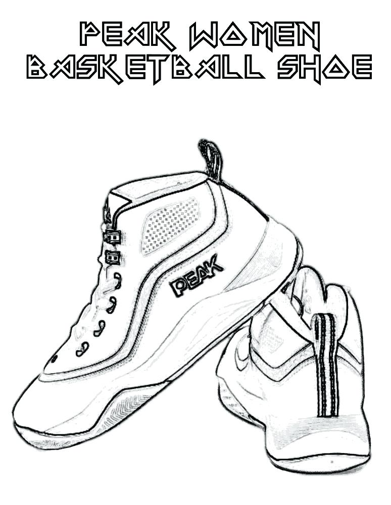 Kd Shoes Coloring Pages at GetDrawings.com | Free for personal use ...
