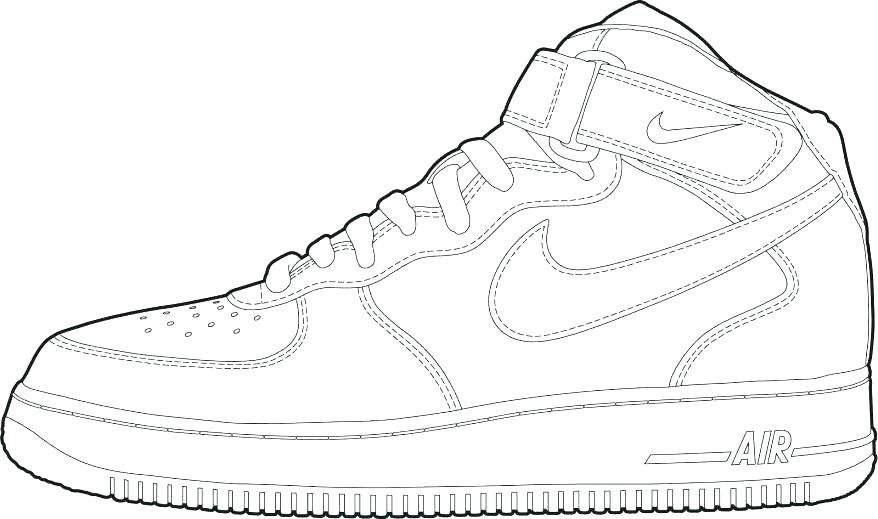 878x519 Shoes Coloring Page Basketball Shoes Coloring Page Kd Shoes