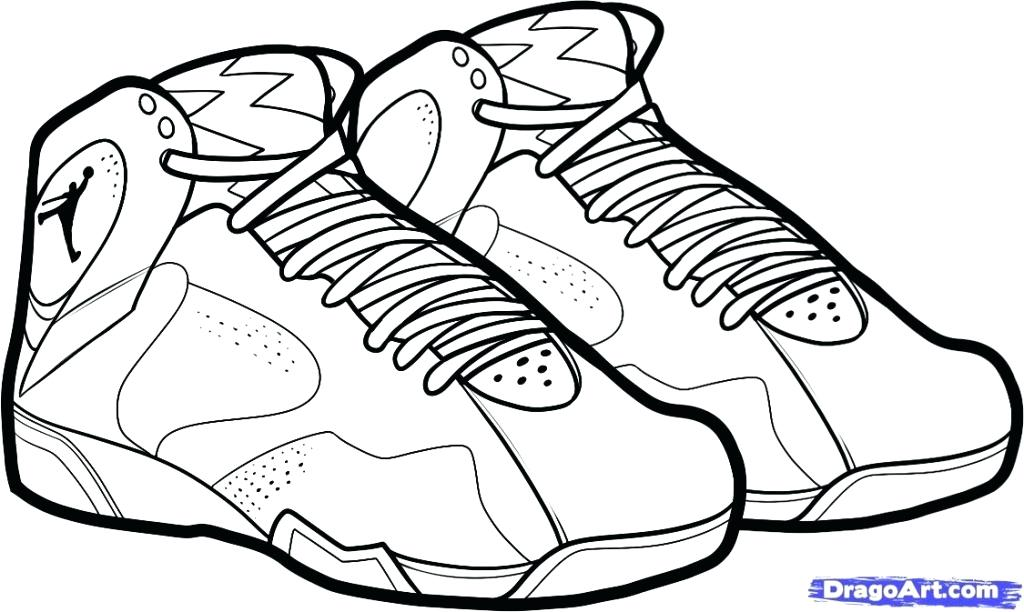 1024x612 Shoes Coloring Pages Shoes Coloring Pages Logo Coloring Pages