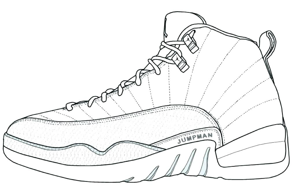 1024x655 Kd Sneaker Coloring Pages