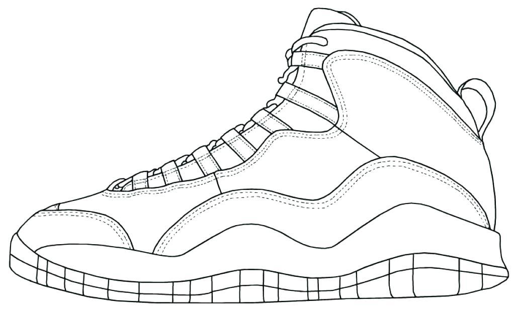 1024x621 Coloring Pages Of Shoes Shoe Color Page Coloring Pages Shoe