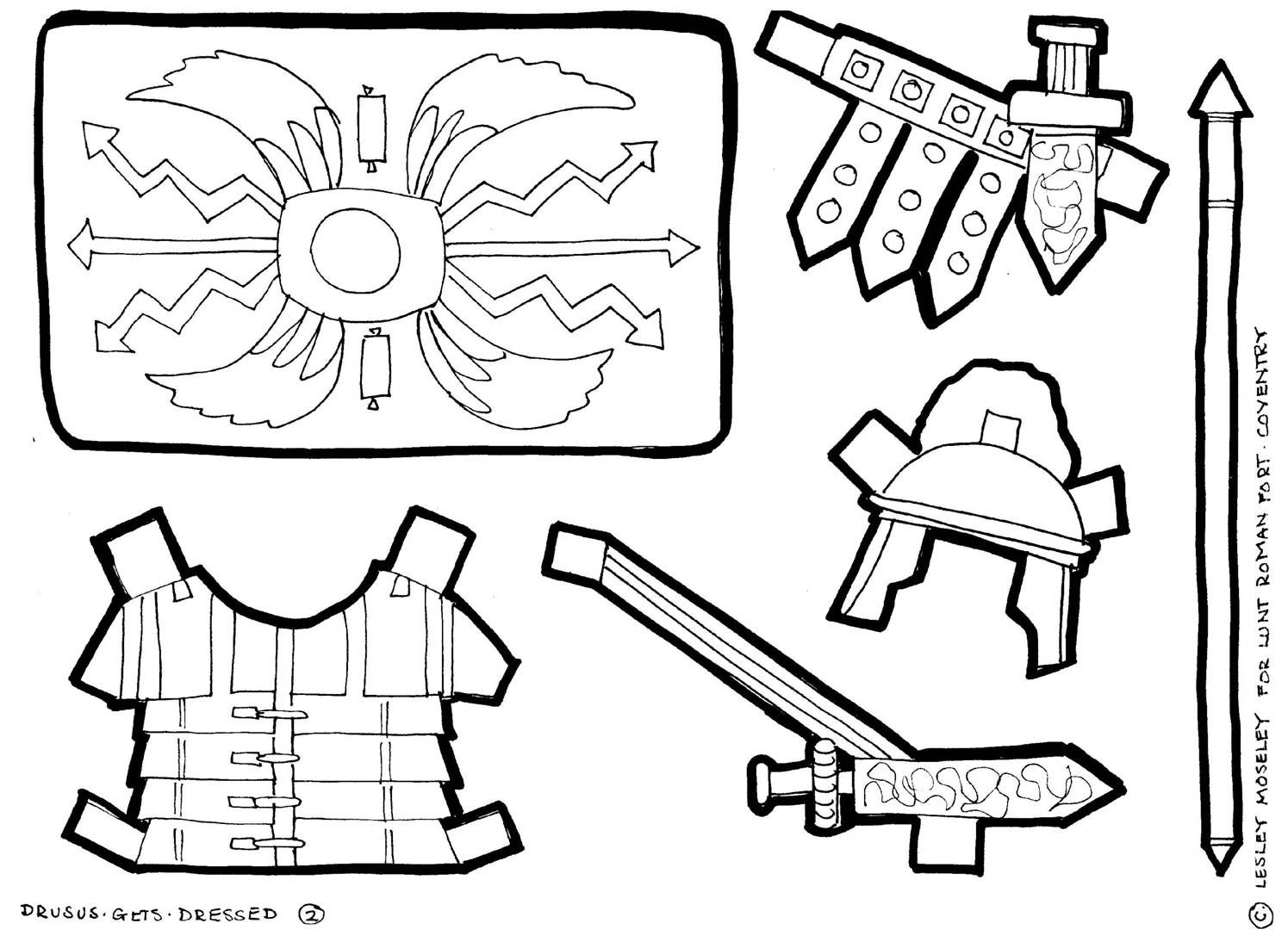 1495x1101 Roman Soldier Armor Coloring Page Drawing Roman
