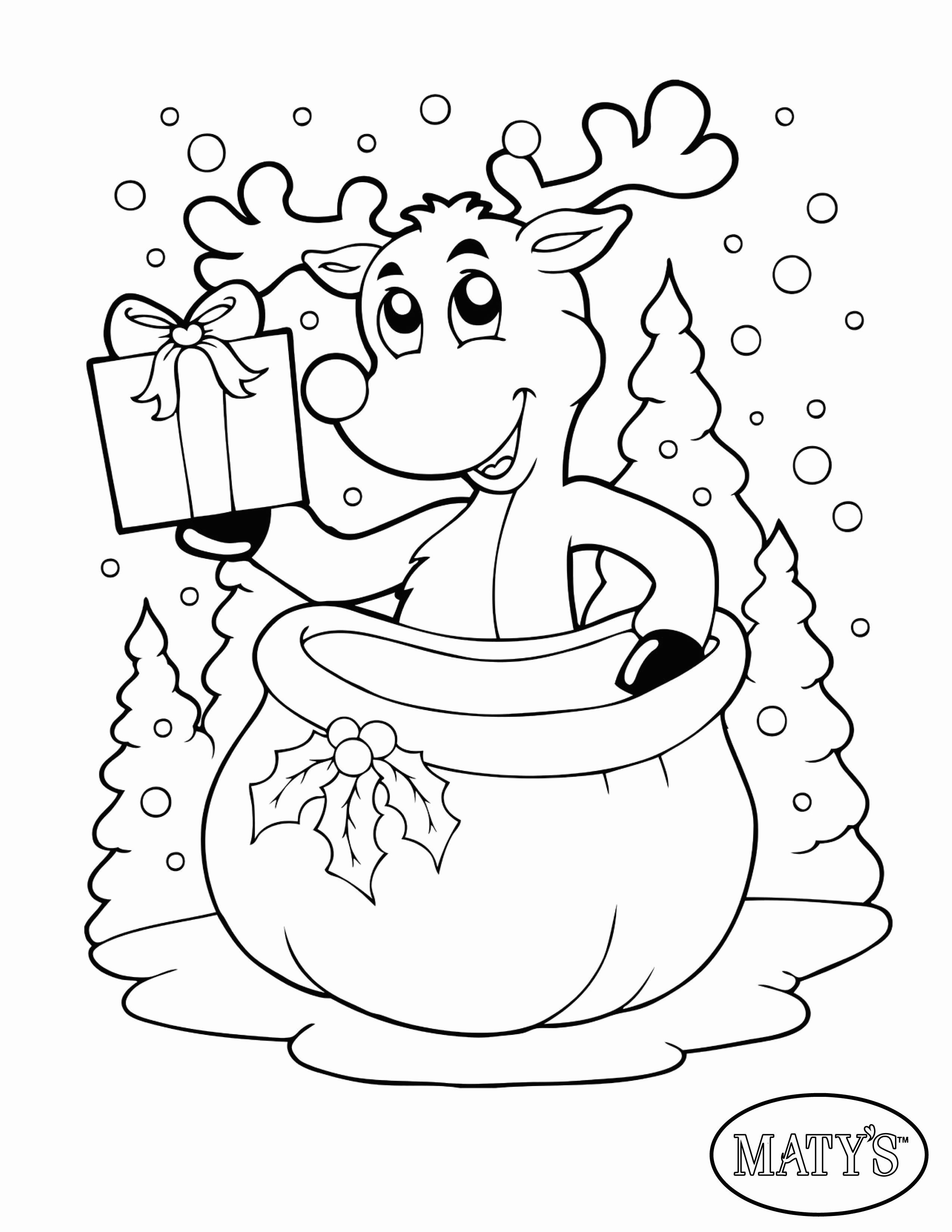2550x3300 Chirstmas Coloring Pages Inspirational Here S A Holiday Printable