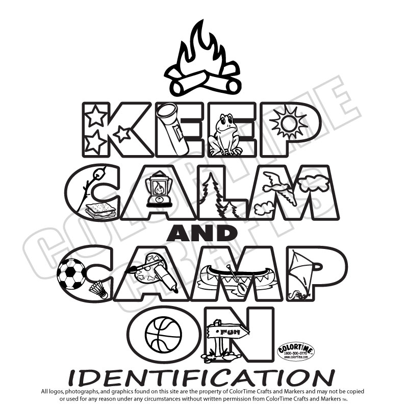 794x794 Girl Scout Camping Coloring Pages Keep Calm And Camp On Girl