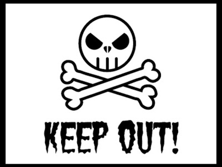 440x330 Keep Out Coloring Pages