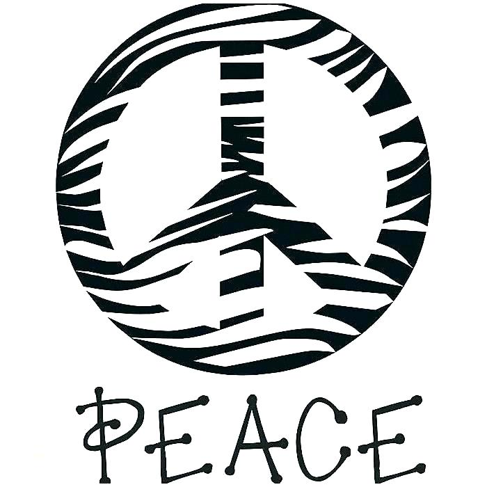 700x700 Peace Sign Coloring Pages Peace Sign Coloring Page Peace Signs