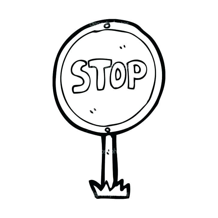 728x728 Printable Stop Light Coloring Pages Stop Sign Coloring Stop
