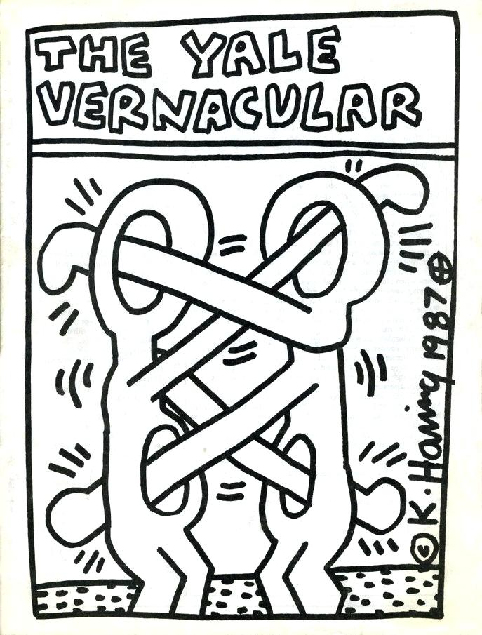 Keith Haring Coloring Pages at GetDrawings.com | Free for ...