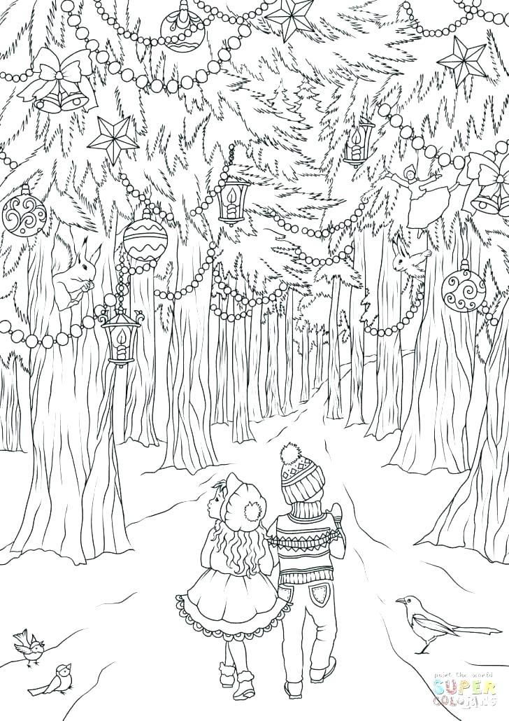 728x1030 Forest Coloring Pages Large Size Of Forest Coloring Page