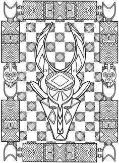 236x323 African Clothes For Kids African Clothes Colouring Pages