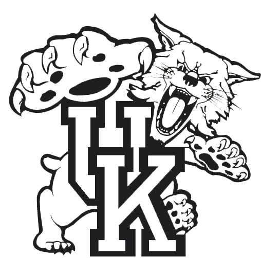 508x503 Kentucky Football Coloring Pages
