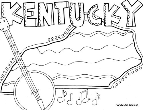 499x386 Kentucky Coloring Sheets Free Coloring Pages