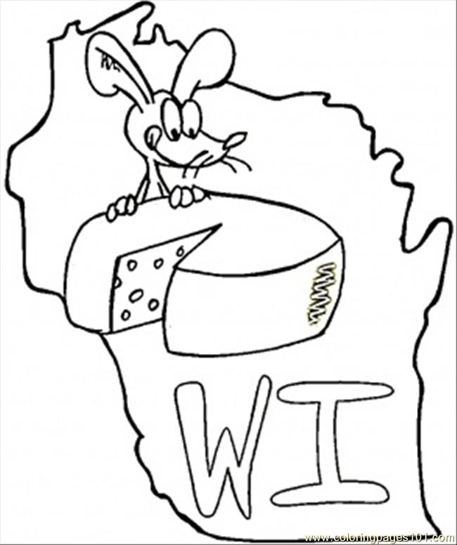 650x776 Wisconsin State Seal Coloring Page Kentucky Flag