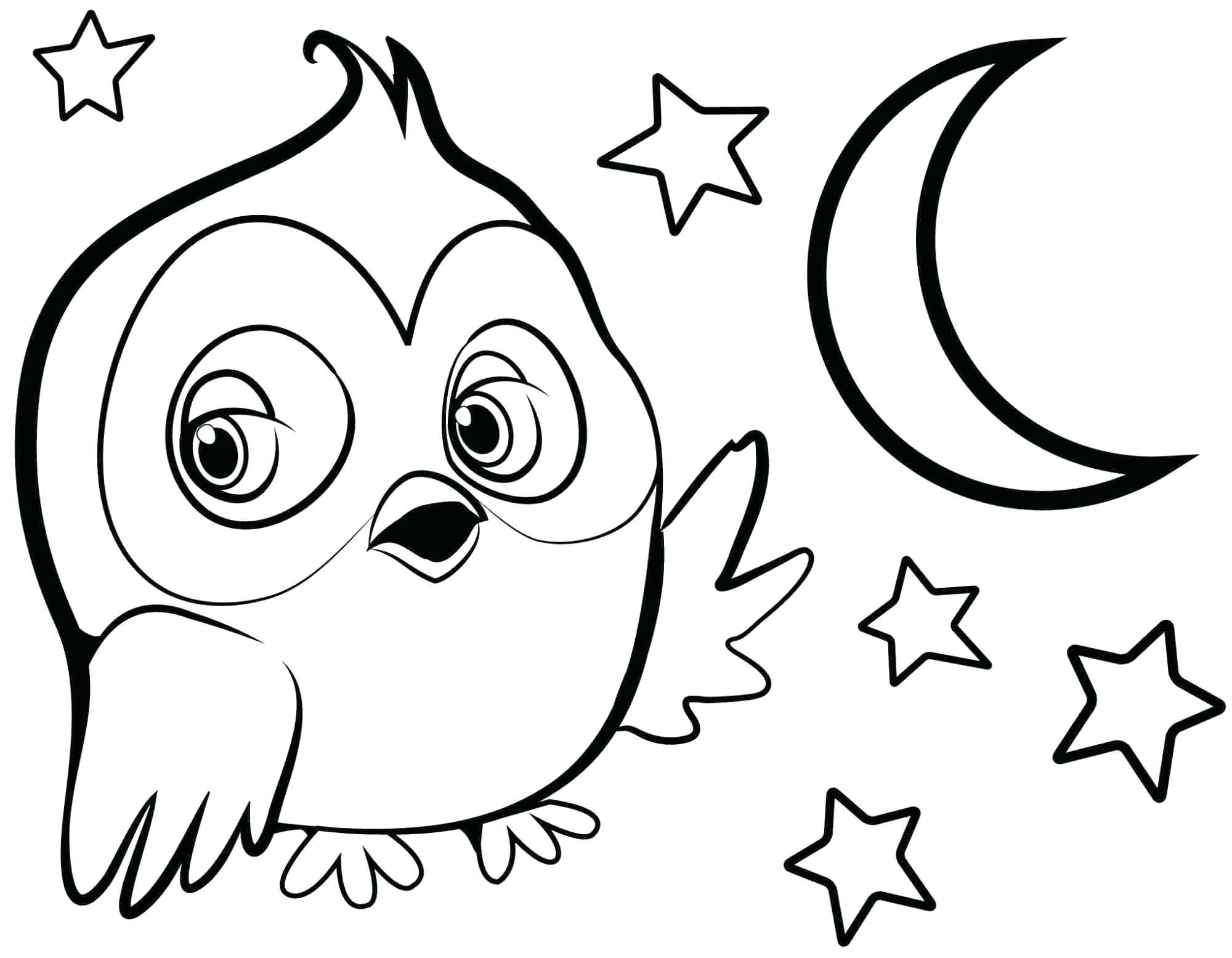 2000x1555 Printable Preschool Animal Coloring Pages Owl Printable Click