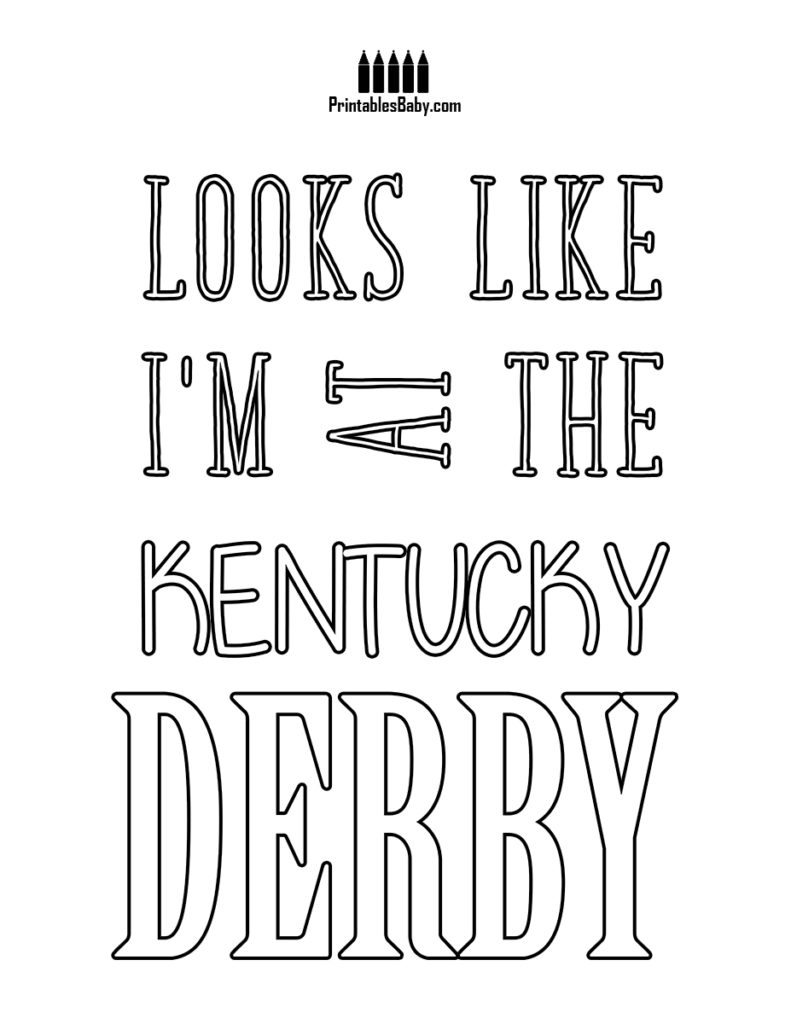 791x1024 Kentucky Derby