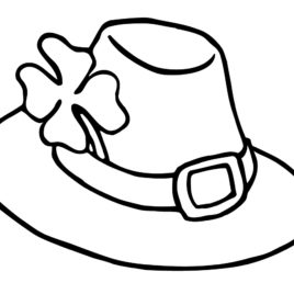 268x268 Kentucky Derby Coloring Pages Animal Jr Derby Hat Coloring Page