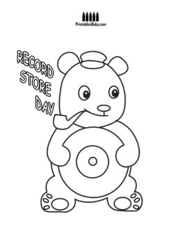 262x340 Record Store Day Coloring Pages Archives