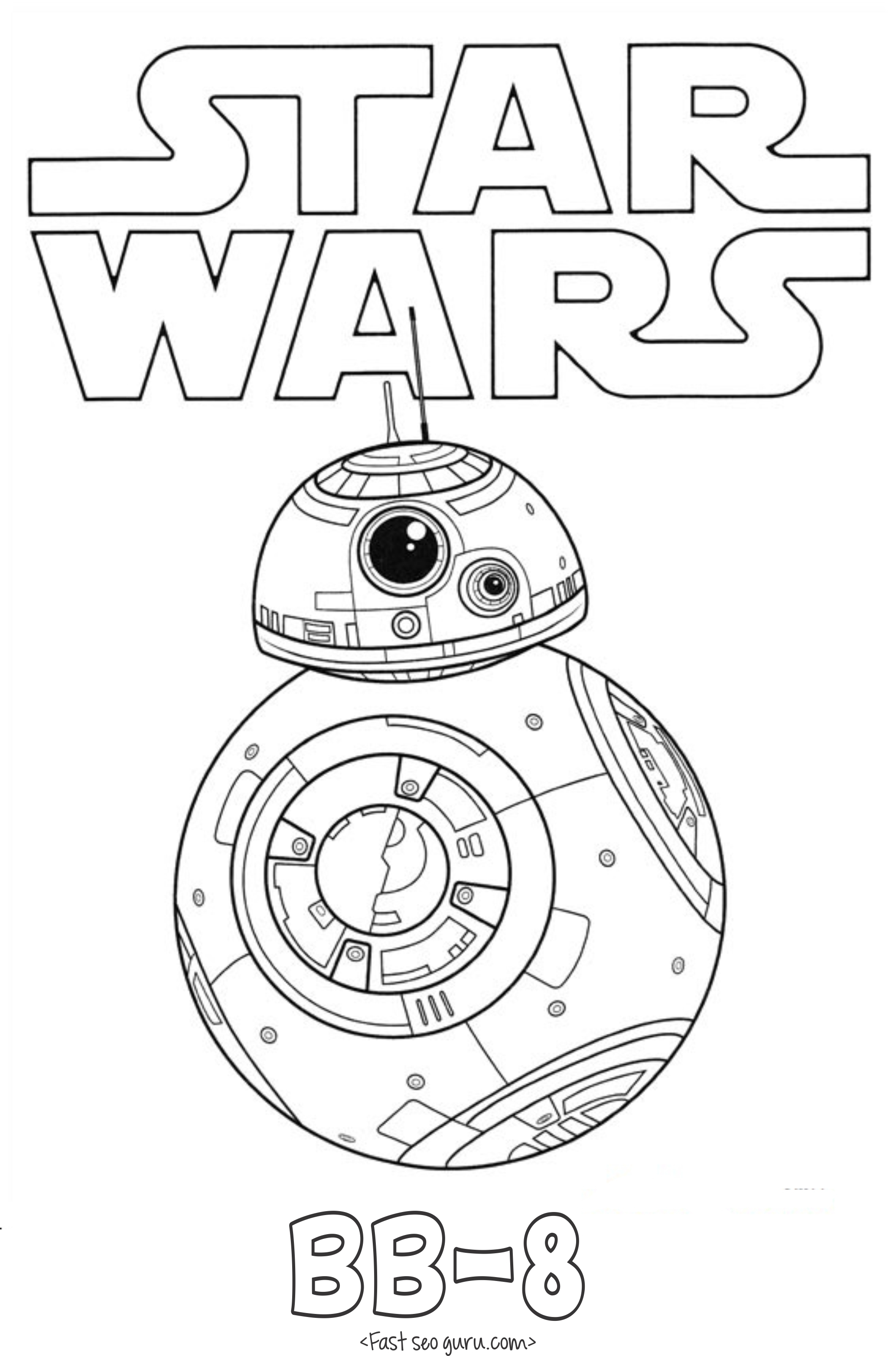 2067x3127 Star Wars Bb Coloring Pages Download Coloring For Kids