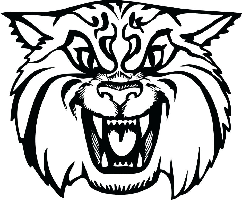 940x775 Kentucky Wildcats Coloring Pages Wildcat Coloring Page Adult Wild