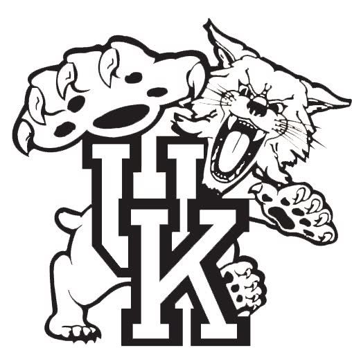 508x503 Kentucky Wildcats Logo Coloring Pages Yeti Decal Designs
