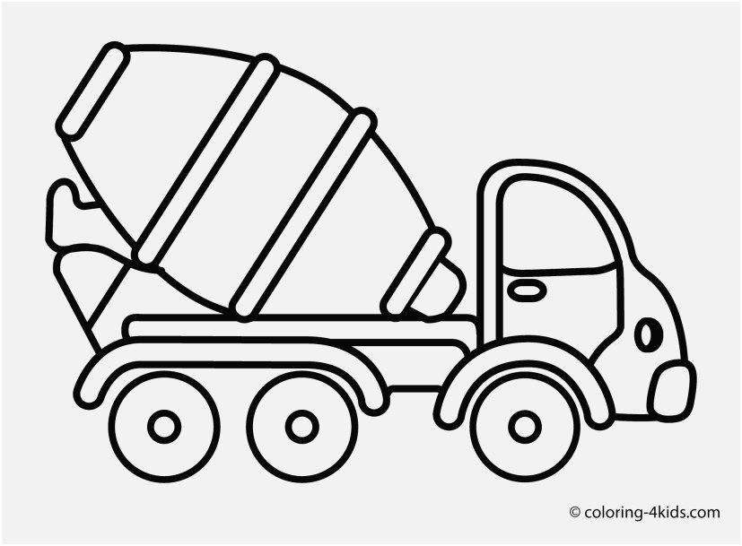 827x609 Truck Coloring Book Photo Cement Mixer Truck Transportation