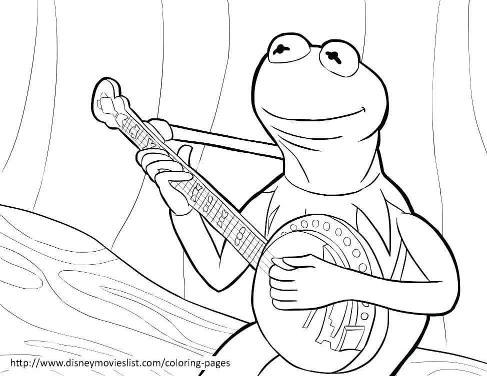 974x753 Kermit Coloring Pages Frog Coloring Pages Printable The P