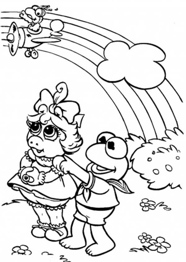 600x845 Kermit The Frog Coloring Pictures Free Download