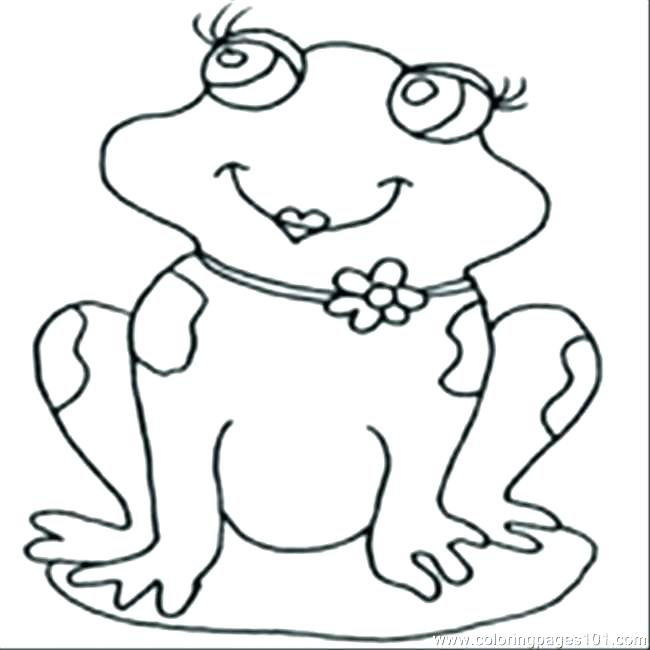 650x650 Kermit Coloring Page