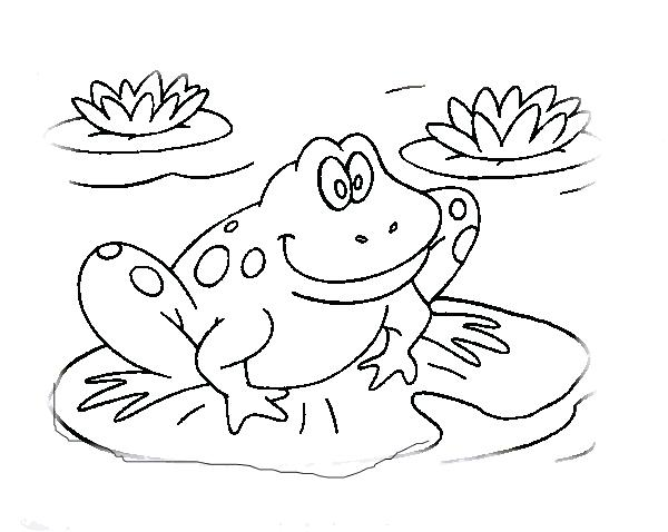 600x478 Kermit The Frog Coloring Pages