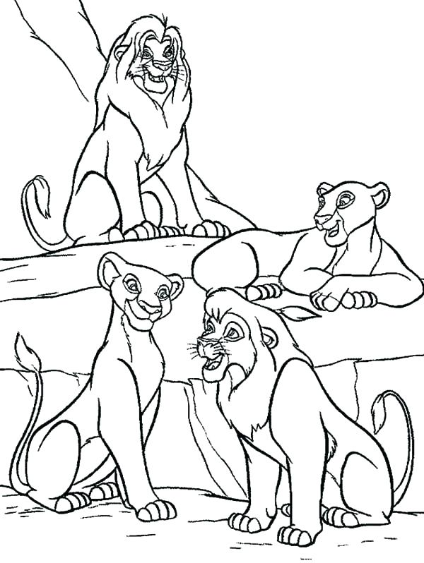 600x798 Lion King Coloring Pages Luxury Lion King Coloring Pages Best