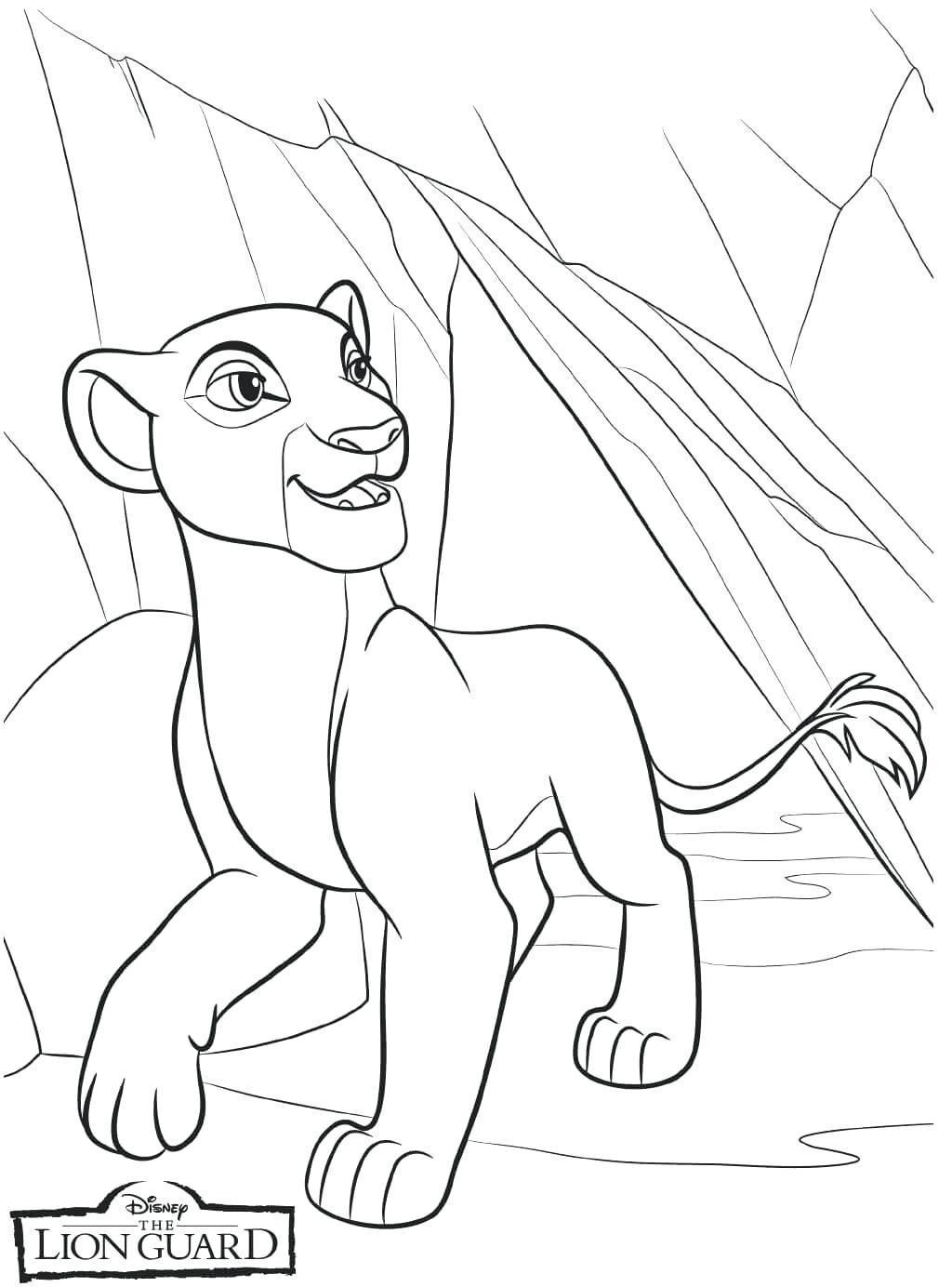 1024x1384 Download Lion King Coloring Pages Kovu Kiara