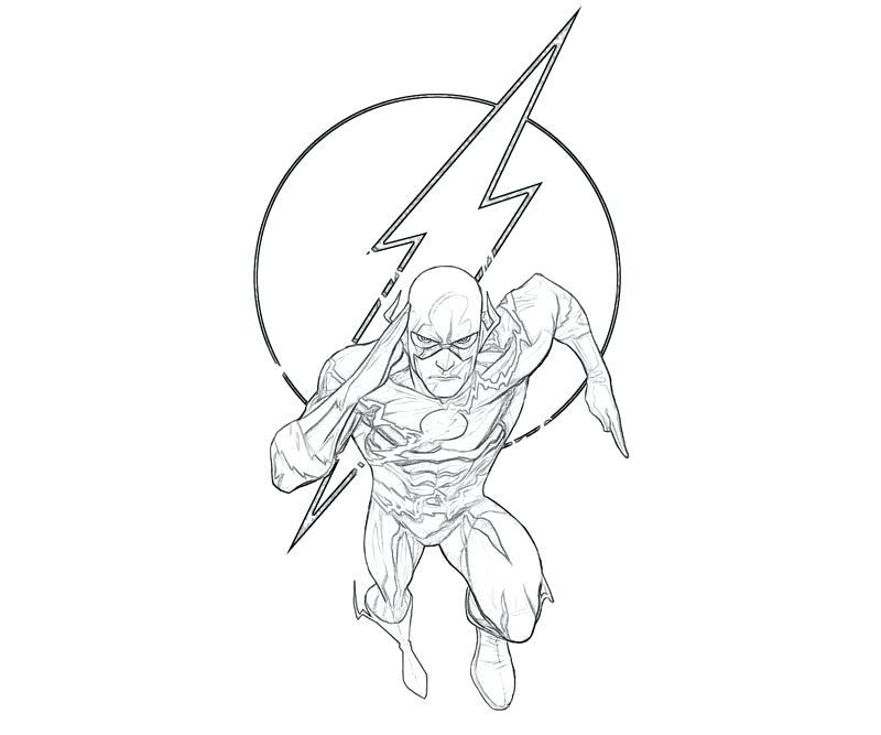 800x667 Paginas Para Colorear Imprimibles En Flash Flash Para Teen Titans