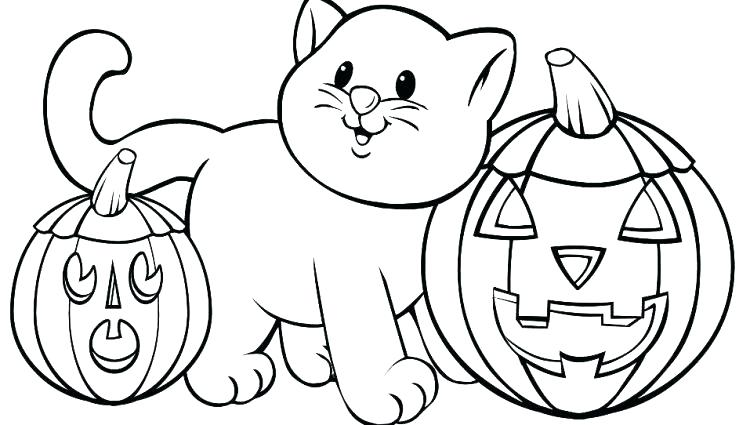 750x425 Toddler Halloween Coloring Pages Coloring Sheets Toddlers
