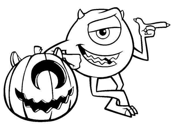 600x436 Free Halloween Coloring Pages Online Disney Printable Coloring