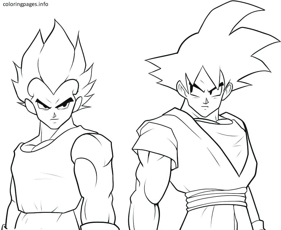 Kid Goku Coloring Pages At Getdrawings Com Free For Personal Use