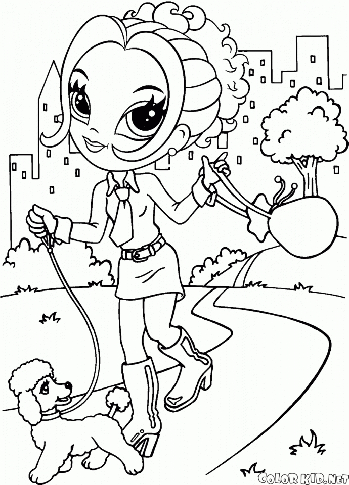 690x960 Amazing Lisa Frank Coloring Page On Line Drawings With Lisa
