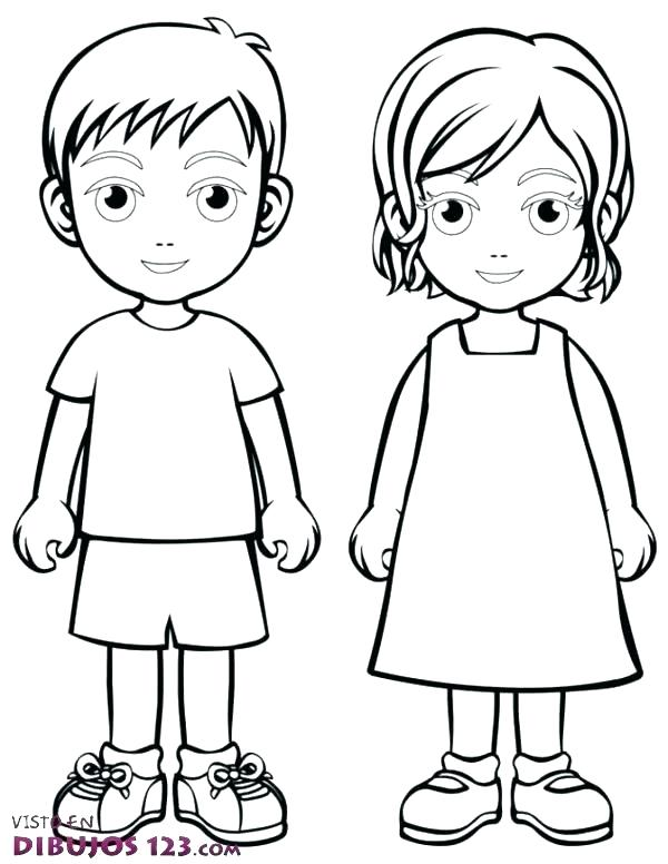 600x776 Body Outline Coloring Page Coloring Page For Kid Body Outline