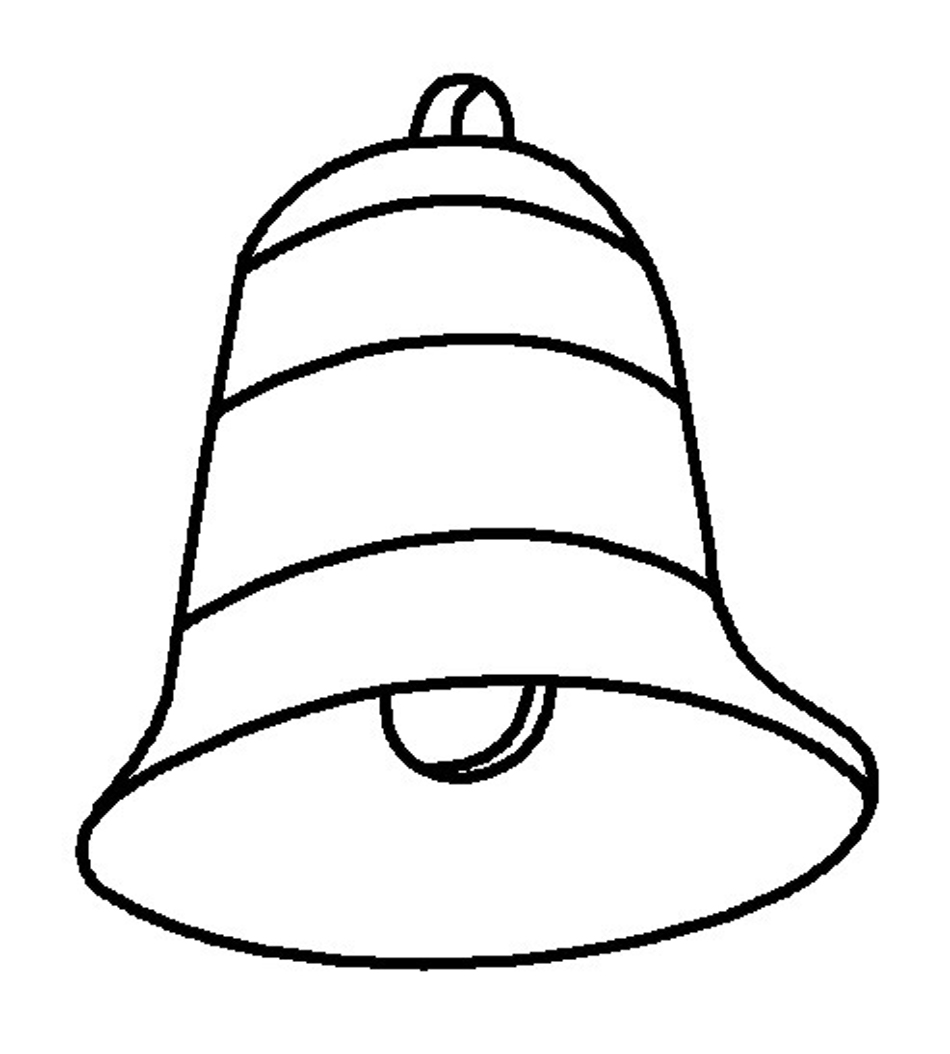950x1054 Free Printable Bell Coloring Pages For Kids Church Bells Coloring