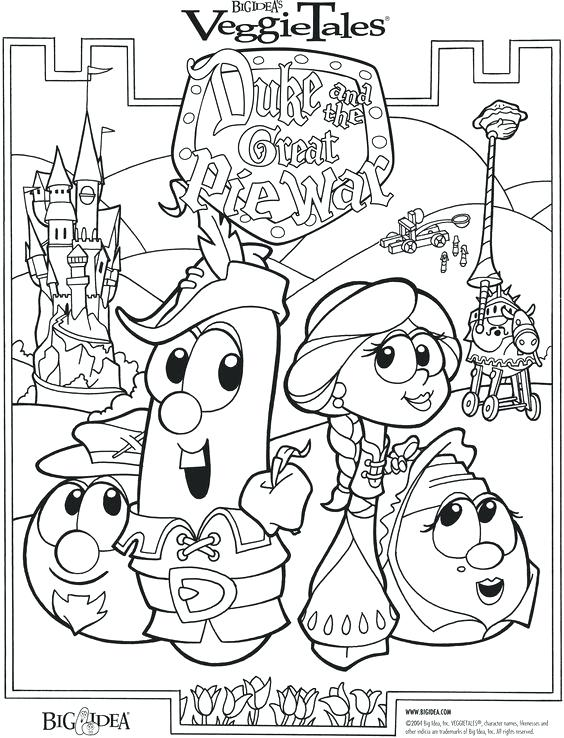 564x738 Gideon Coloring Page Duke The Great Pie War Bible Story Coloring