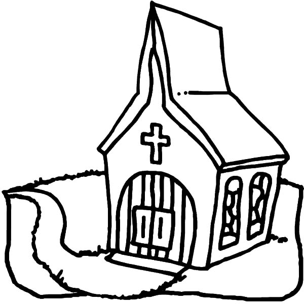 600x600 Preschool Kids Church Coloring Pages Best Place To Color