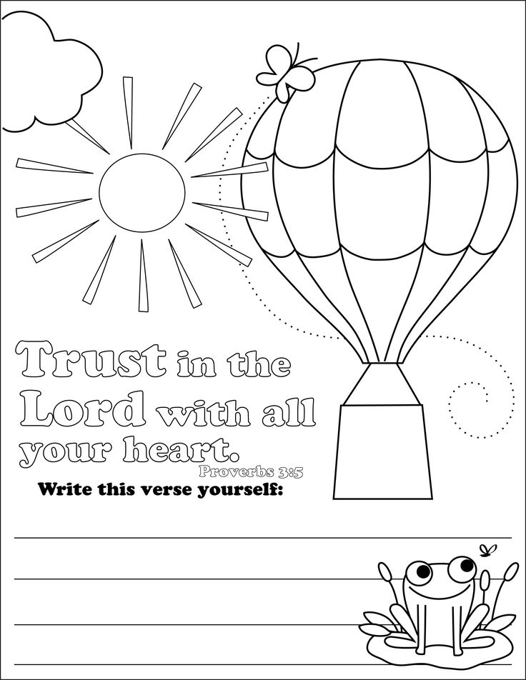 736x952 Trust Coloring Pages For Childrens Church