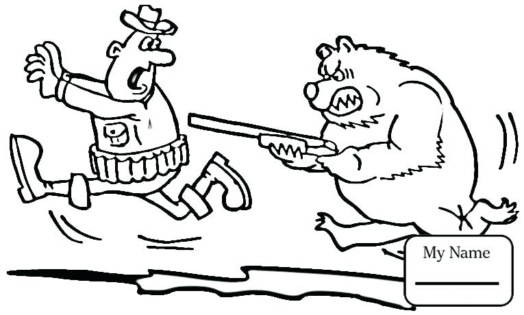 765x460 Hunting Coloring Pages Activities Hunting Bear Is Stronger Hunting