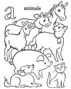 236x295 Farm Animal Coloring Page Pigs Slop Animales